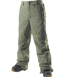 Special Blend Proof Snowboard Pants Militant Green