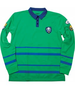 Special Blend Rugby Shirt Baselayer Top Crew Green