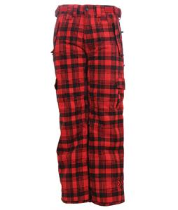 Special Blend Scarlet Le Snowboard Pants Tartan Plaid