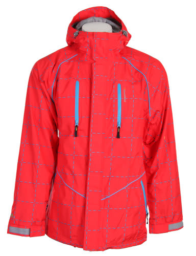 Special Blend Signature Snowboard Jacket Red Rum Crossfire