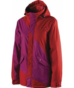 Special Blend Siryn Snowboard Jacket Red Rum /Purple Hazed