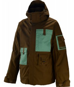 Special Blend Snowpatrol Snowboard Jacket Heavy Duty Brown