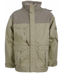 Special Blend Snow Patrol Snowboard Jacket Olive Grey