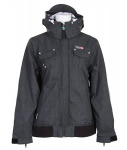 Special Blend Stealth Snowboard Jacket Cross Hatch Womens