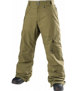 Special Blend Strike Insulated Snowboard Pants Burnt Greens