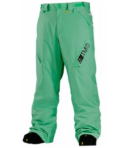 Special Blend Strike Snowboard Pants Green Piece