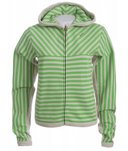 Special Blend Stripe Zip Hoodie Topiary Strp