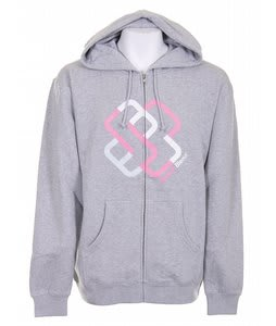 Special Blend 4 Stripes Icon Zip Hoodie Ath Heather