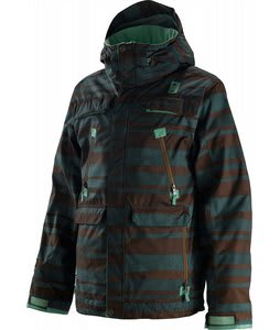 Special Blend Trigger Snowboard Jacket Early Lineup Green Peace