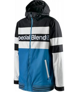 Special Blend Unit Snowboard Jacket Drink It Blue 