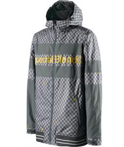 Special Blend Unit Snowboard Jacket Greyskull Check Yoself