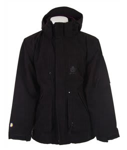 Special Blend Utility P Snowboard Jacket Black Cord