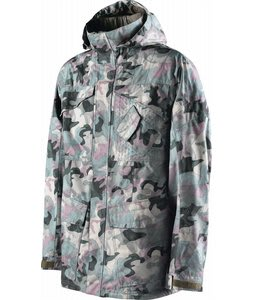 Special Blend Utility Snowboard Jacket Burnt Greens Last Call Camo