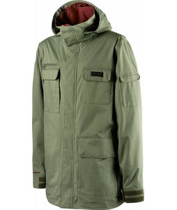 Special Blend Utility Snowboard Jacket Militant Green 