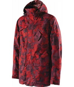 Special Blend Utility Snowboard Jacket Red Rum Last Call Camo