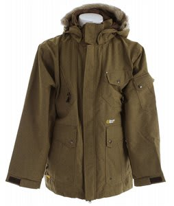 Special Blend Utility Snowboard Jacket Tan Reserve Tweed