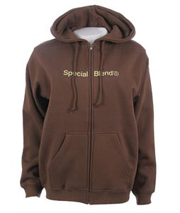Special Blend Wordmark Zip Hoodie Earth