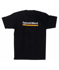 Special Blend Wordmark Stripe T-Shirt Black
