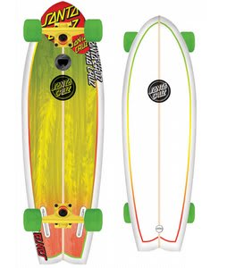Santa Cruz Landshark Skateboard Complete Rasta