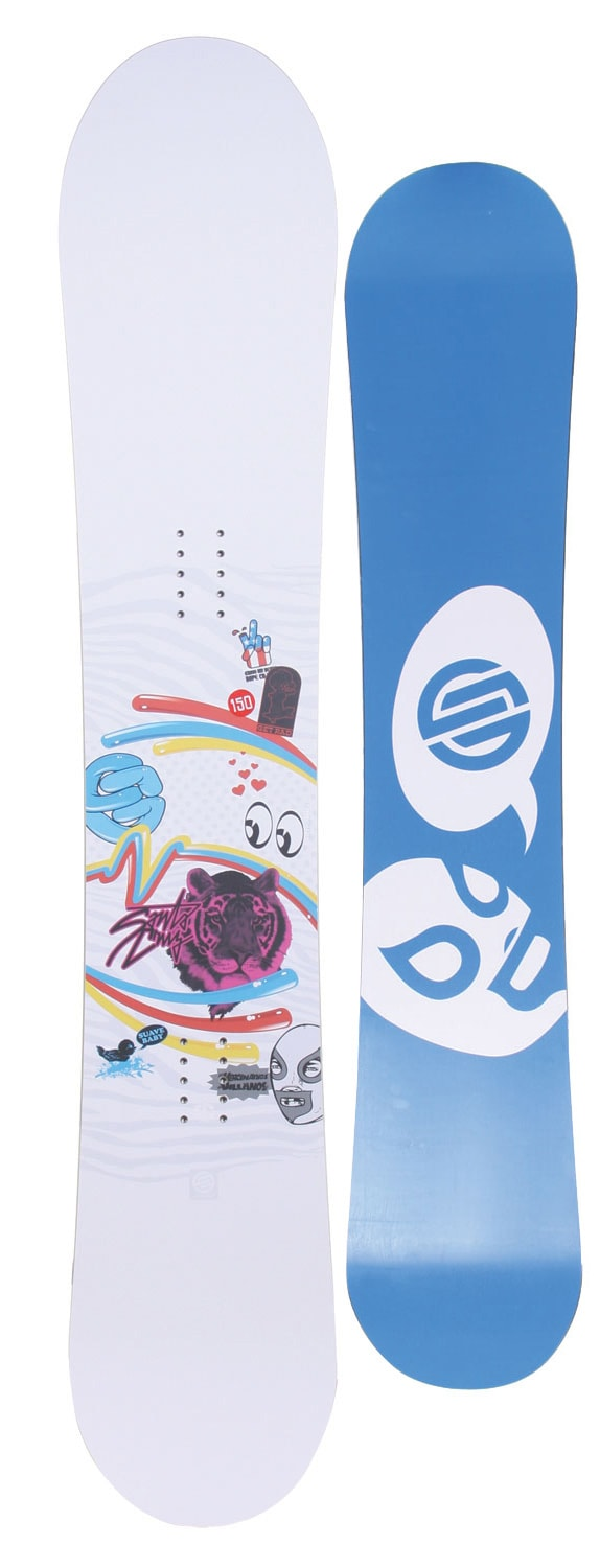 Shop for Santa Cruz Suave Eyes Snowboard 147 - Women's