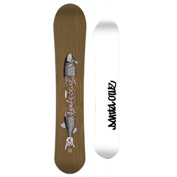 Santa Cruz Twinza J Fish Snowboard