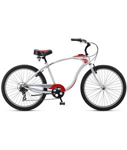 Schwinn Corvette Beach Cruiser Silver 26in