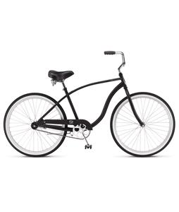 Schwinn S1 Beach Cruiser Black 26in