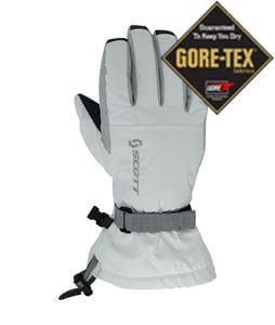Scott Fuel Gore-Tex Gloves White