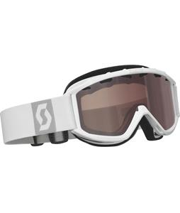 Scott Jr Hookup Goggles White/Natural Lens 40% Vlt Lens
