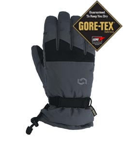 Scott Timber Gore-Tex Gloves Grey/Black
