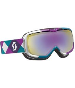 Scott Aura Goggles Overprint Purple/Green/Illuminator-50 Lens