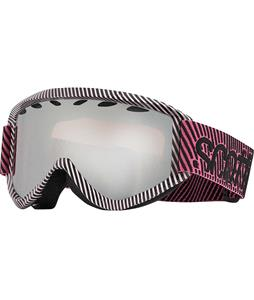 Scott Duel Plus Goggles Plus Powder Pink/Silver Chrome Lens