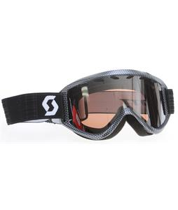 Scott Duel Plus Goggles Carbon/Silver Chrome Lens