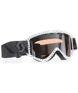 Scott Duel Plus Goggles Rockette Black/Silver Chrome Lens