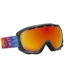 Scott Fix Goggles Tiedye Multicolor/Red Chrome Lens