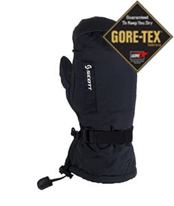 Scott Fuel Gore-Tex Mittens Black