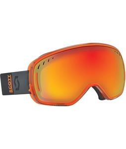 Scott LCG Goggles Black Orange/Red Chrome + Iiluminator -50 Lens