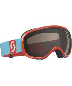 Scott Off-Grid Goggles Red/Natural Lens 45% Vlt Lens