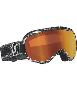Scott Off-Grid Goggles Freeze Black/Red Chrome Lens