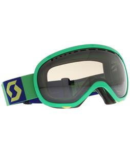 Scott Off-Grid Goggles Green/Yellow/ Green Chrome Lens