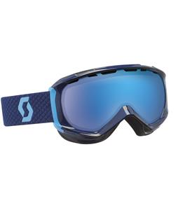 Scott Reply Goggles Evening Blue/Blue Chrome Lens