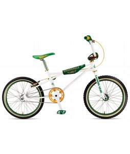 SE 20 Quadangle Looptail Freestyle Bike White  20in