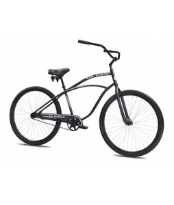 SE Big Style Single Speed Beach Cruiser Bike Black Matte 29
