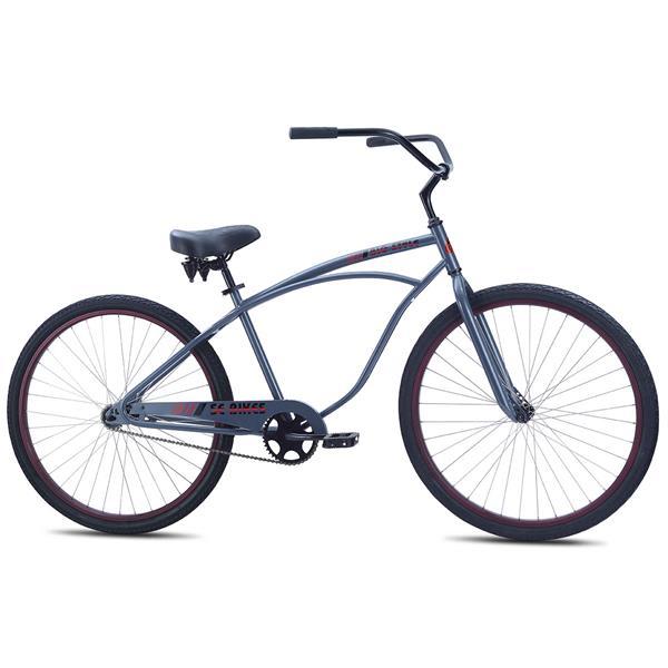 SE Big Style 29 Bike Gray 29in/24.2in Top Tube