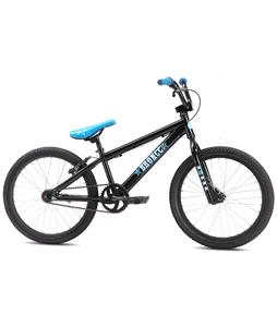 SE Bronco BMX Bike Black 20in/18in Top Tube