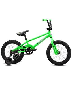 SE Bronco BMX Bike Green Neon 16in