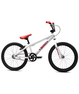 SE Bronco BMX Bike White 20in/18in Top Tube