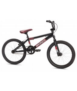 SE Bronco BMX Bike Black 20in
