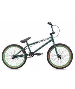 SE Everyday BMX Bike Matte Green 20in/20in Top Tube