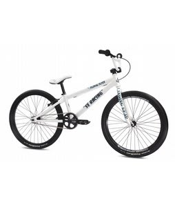 SE Floval Flyer BMX Bike White 24in